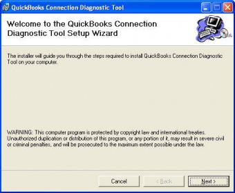 QuickBooks Diagnostic Connection tool
