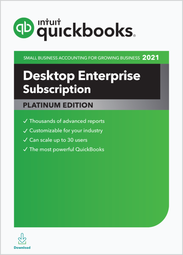 QuickBooks enterprise 2021 download
